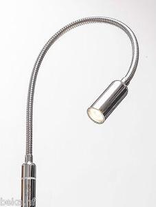 3w led bettleuchte dimmbar leseleuchte nachttischlampe. Black Bedroom Furniture Sets. Home Design Ideas