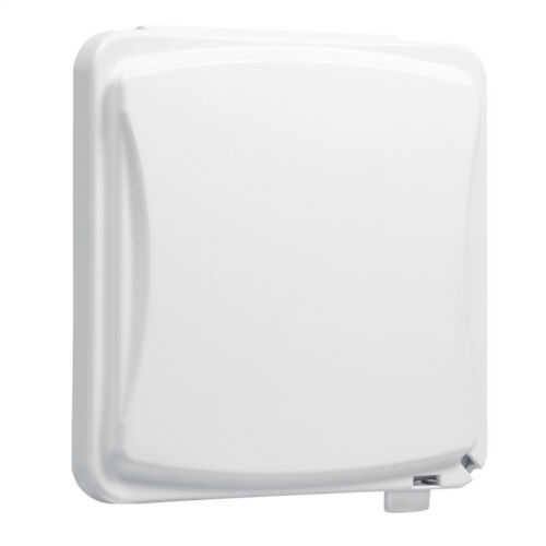 Hubbell Taymac MM1410W 2-Gang Weatherproof Flip Cover 55-in-1 Flat White