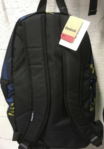 Unisex Book Bag Workout Back pack w// Padded Laptop Sp Mix Colors Reebok N SZ