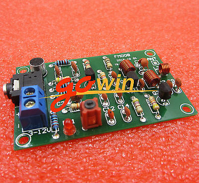FM Radio Transmitter Repeater MP3 Audio Wireless Transmitter Module 6-110MHz
