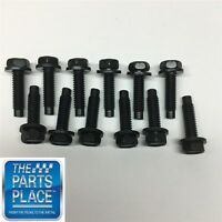 1966-72 Gm Cars - Door Hinge Hardware Kit - - 12 Piece