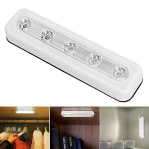 Light Led Touch Operated Induction Lamp Battery Stick On