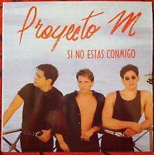 PROYECTO M **Si No Estas Conmigo** VERY SCARCE 1993 Venezuela LP **MENUDO**