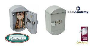 Wall Hanging Keep Keys Safe! Kamasa Combination Lock Key Safe