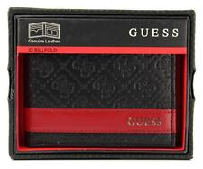 Guess Men/'s Leather Credit Card ID Billfold Rfid Wallet Tan 31GU220014