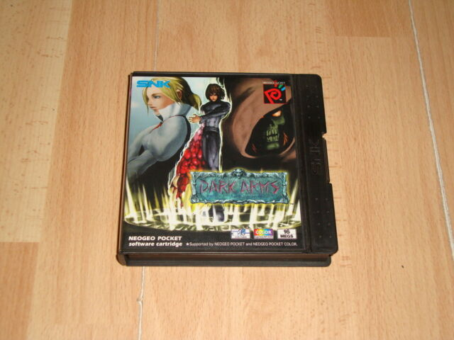 DARK ARMS BEAST BUSTER 1999 BY SNK FOR NEO GEO POCKET COLOR NEOP 0045 BRAND NEW