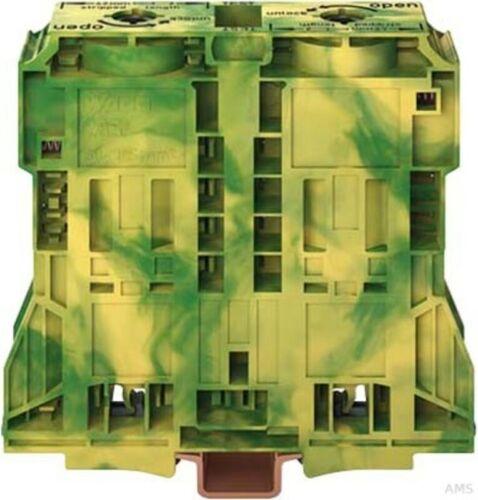 grün//gelb 285-1187 WAGO 2-Leiter Durchgangsklemme 185qmm