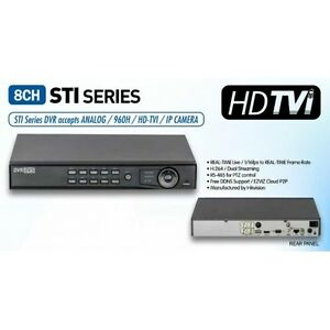 Details about HIKVISION 8ch CCTV DVR system 1080p/720p record HD-TVI/Analog  Camera compatible