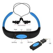 Sport Waterproof 8G Swimming Diving Underwater MP3 Player FM Radio Earphone D8G2