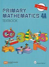 Primary Mathematics 4a Textbook by Singaporemath Com (2003, Paperback)