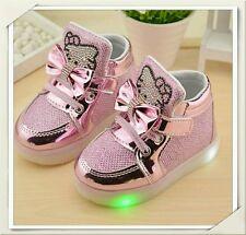 ❤ Hello Kitty Sneaker 🌟 LED 🌟 Gr.23 🌟 Rosa 🌟 Neu ❤