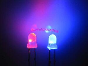 50pcs New 1.8mm White Diffused LED Leds Light Bulb Milk-White Lens Free Shipping
