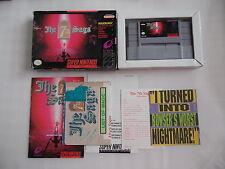 The 7th Saga (NTSC) Super Nintendo SNES Complete in box CIB OVP