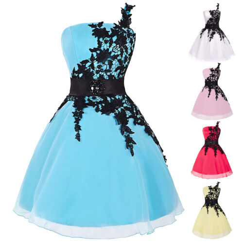 MASQUERADE FORMAL EVENING WEDDING HOMEVCOMING PARTY GOWN SHORT/MINI ...