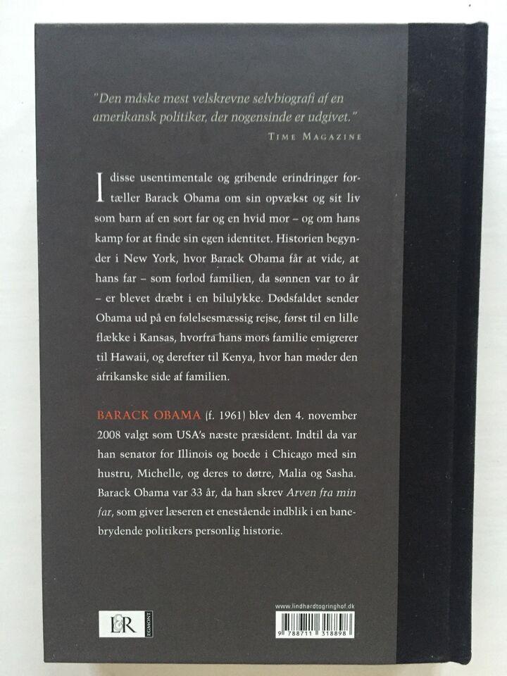 Arven fra min far, Barack Obama, genre: biografi