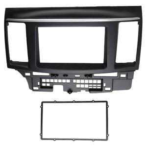 2-Din-Fascia-for-Mitsubishi-Lancer-Car-Stereo-Radio-Dash-Panel-Facia-Kit-Trim