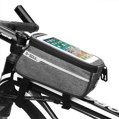 Mountain Bike Bag Front Beam Bag Bicycle Tube Bag Riding Equipment Saddle Bag