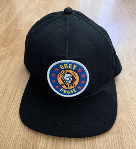 Obey Posse Snapback Cap Hat