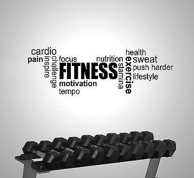 Bild Plakat Training Training Gerahmter Druck Inspiriert Fitness Wort Wolke