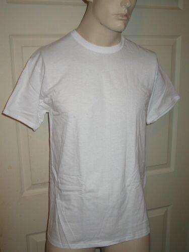3 Pack Hanes Tagless Soft Classics White Crew Neck Tee Shirts T-Shirt Mens L