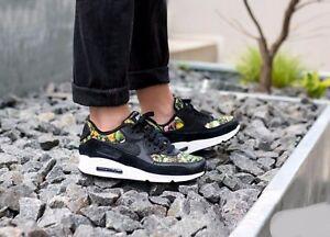 Details about Nike Air Max 90 SE Floral Black Prism Pink 881105 001 Wmn Sz 7