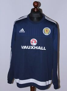 Scotland National Team training football jumper jacket 14/15 Adidas Size XL