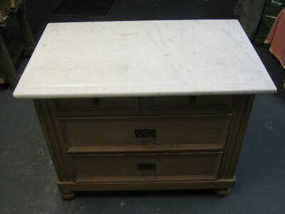 Antik Kommode,weichholzkommode Mit Marmorplatte, Landhaus Möbel, Von Der Konsumierenden öFfentlichkeit Hoch Gelobt Und GeschäTzt Zu Werden