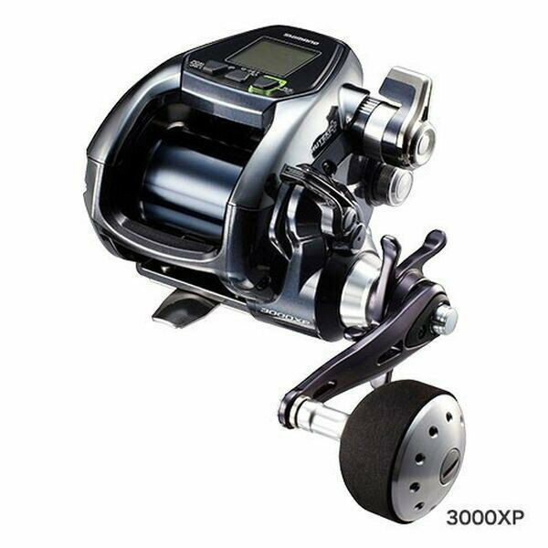 Shimano electric reel 17 force master 3000 XP right handle