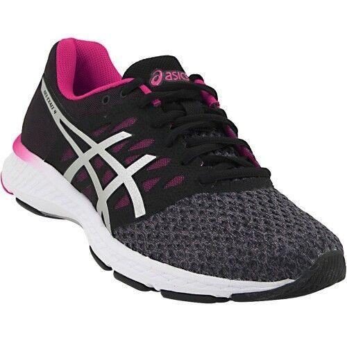 NIB Asics GEL-Exalt 4 Running shoes Carbon Silver Pink T7E5N-9793 Women's Sz 7-10