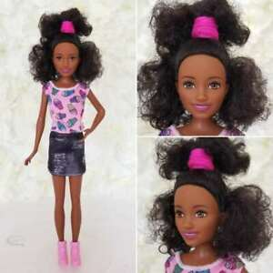 NUDE BARBIE DOLL GODDESS PRINCESS OF INDIA BLACK HAIR FOR