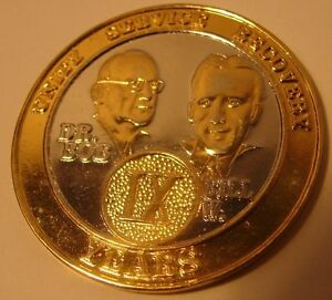 Alcoholics Anonymous AA Founders Bi Plated NEW 9 Year METAL Medallion Coin VI