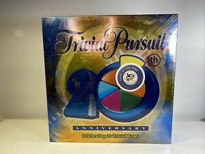 Trivial Pursuit 20th Anniversary Edition 2004  Parker Family Game New Sealed!!