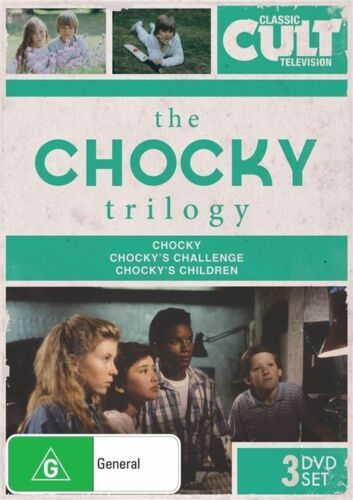 1 of 1 - The Chocky Trilogy (DVD, 2013, 3-Disc Set) R4, LIKE NEW
