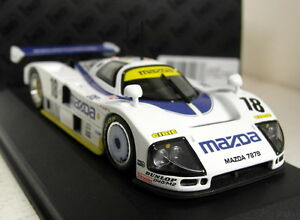 Ixo 1/43 Scale LMC028 Mazda 787B #18 LeMans 91 Kennedy Johansson ...