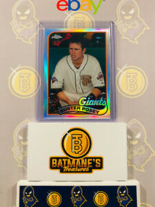 2014-Topps-Chrome-Buster-Posey-89TC-BP-Refractor-Baseball-Card-NM-M-MINT