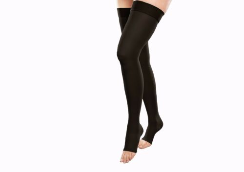 Highs Calze Open Toe compressione o Thigh H a 25 Mmhg 35 Gabrialla 306 RTZqw