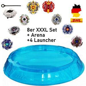 8er-Burst-Set-4-lanceur-Arena-Bleu-toupie-pour-toupies-Burst-Rise-ARENA-NEUF
