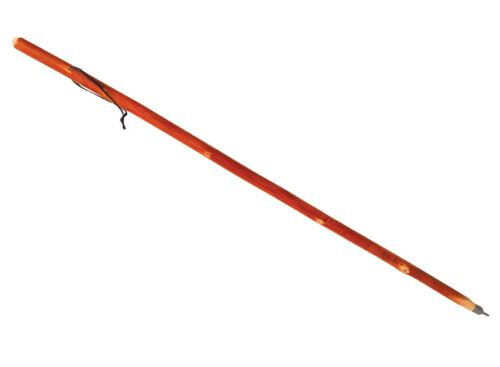Baladeo Wanderstock aus Tannenholz handgefertigt excl 120cm lang 300 Gramm leic
