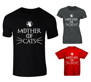 68e190b8 Mother Of Cats Game Of Thrones Dragons Parody T-shirt - Mens, Womens ...