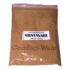 SHATAVARI Asparagus Racemosus Satavar Herb Powder 100g/3.53 oz