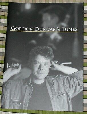 Gordon Duncan Tunes for HIGHLAND BAGPIPE BOOK PIPES TRAD FOLK