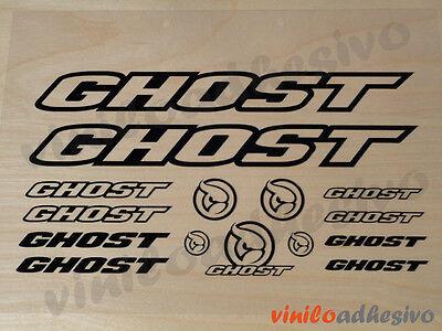 Obbiettivo Pegatina Sticker Vinilo Ghost Kit Bicicleta Bike Aufkleber Autocollant E La Digestione Aiuta