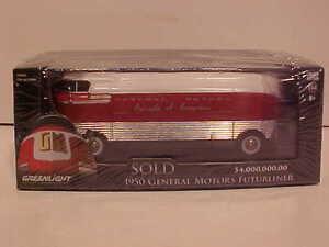 1950 general motors futurliner bus diecast 1 64 greenlight 5inch parade progress. Black Bedroom Furniture Sets. Home Design Ideas