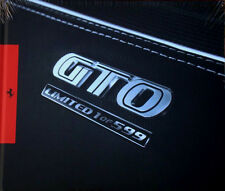 Ferrari 599 GTO Brochure In Factory Shrinkwrap