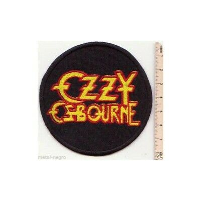 Ozzy Osbourne Embroidered PATCH//BADGE