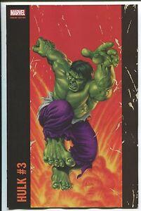 HULK #3 JUSKO CORNER BOX VARIANT COVER MARVEL COMIC BOOK INCREDIBLE IMMORTAL 1