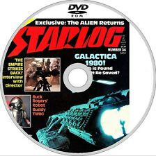 STARLOG magazine ISSUES 1-265 PDF on 2x DVD STAR TREK STAR WARS SCI FI DR WHO