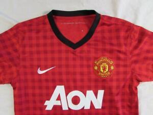 72911d1c109 Nike 2012 13  17 Nani Manchester United Soccer Jersey Sz S Home Kit ...