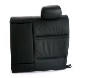 BMW 3 Series E92 Cuero Negro Trasero Izquierdo N//S respaldo cubierta de asiento trasero