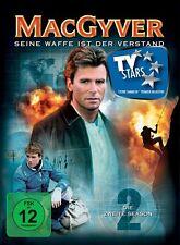MACGYVER (RICHARD DEAN ANDERSON, DANA ELCAR,...) S2  6 DVD NEU